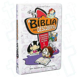 Foto da Capa - A Bíblia das Descobertas - NTLH (Rosa)